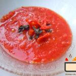 Томатный суп-пюре