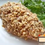 Куриное филе в ореховой корочке